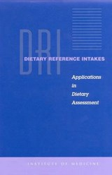 Dietary Reference Intakes | Institute of Medicine |
