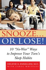 Snooze... or Lose! | Helene Emsellem |