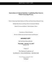 Innovations in Federal Statistics