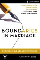 Boundaries in Marriage Participant's Guide | Henry Cloud |