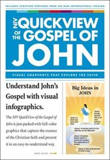 NIV, QuickView of the Gospel of John, Paperback | Zondervan |