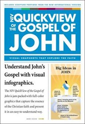 NIV, QuickView of the Gospel of John, Paperback