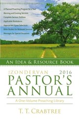 The Zondervan 2016 Pastor's Annual | T. T. Crabtree |