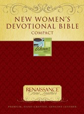 New Women's Devotional Bible-NIV-Compact