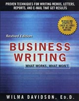 Business Writing | Wilma Davidson |