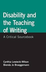 Disability and the Teaching of Writing | auteur onbekend |