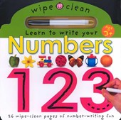 Learn To Write Your Numbers