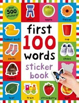 First 100 Words Sticker Book | Roger Priddy |
