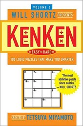 Will Shortz Presents Kenken Easy to Hard, Volume