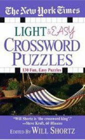 The New York Times Light & Easy Crossword Puzzles | Will Shortz |