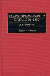 Black Demographic Data, 1790-1860