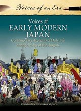 Voices of Early Modern Japan | Constantine Nomikos Vaporis |