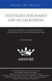 Strategies for Family Law in California
