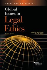 Global Issues in Legal Ethics | James E Moliterno |