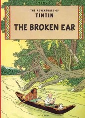 Tintin (05): broken ear
