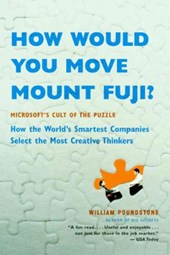 How Would You Move Mount Fuji? | William Poundstone |