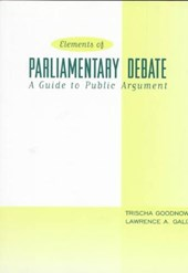 Elements of Parliamentary Debate