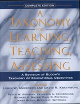 A Taxonomy for Learning, Teaching, and Assessing | Lorin W. Anderson |