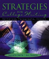 Strategies for College Writing | Jeanette Harris |