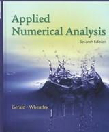 Applied Numerical Analysis | Curtis F. Gerald |