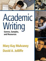 Academic Writing | Mary Kay a. Mulvaney |