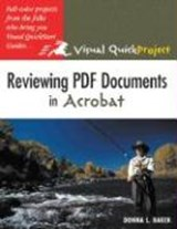Reviewing PDF Documents in Acrobat | Donna L. Baker |