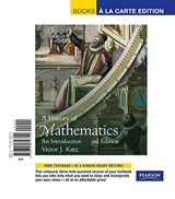 A History of Mathematics | Victor J. Katz |