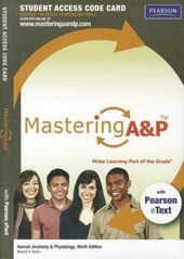 Masteringa&p with Pearson Etext -- Standalone Access Card -- For Human Anatomy & Physiology