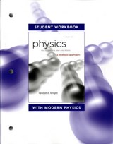 Student Workbook for Physics for Scientists and Engineers | Randall D. Knight |