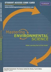 Masteringenvironmentalscience -- Standalone Access Card -- For Essential Environment