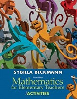 Mathematics for Elementary Teachers with Activities with Access Code | Sybilla Beckmann |