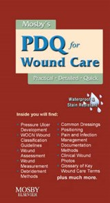 Mosby's PDQ for Wound Care | Mosby |