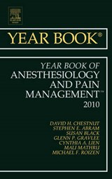Year Book of Anesthesiology and Pain Management | David Chestnut |