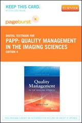 Quality Management in the Imaging Sciences | Jeffrey Papp |