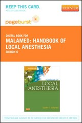 Handbook of Local Anesthesia - Pageburst E-Book on Vitalsource (Retail Access Card) | Stanley F. Malamed |