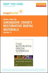 Craig's Restorative Dental Materials - Pageburst E-Book on Vitalsource (Retail Access Card) | Ronald L. Sakaguchi |