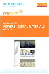 Dental Materials - Pageburst E-Book on Vitalsource (Retail Access Card)