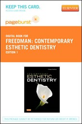 Contemporary Esthetic Dentistry - Pageburst E-Book on Vitalsource (Retail Access Card) | George A. Freedman |