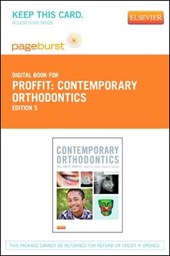 Contemporary Orthodontics - Pageburst E-Book on Vitalsource (Retail Access Card) | William R. Proffit |
