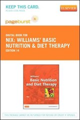 Williams' Basic Nutrition & Diet Therapy - Pageburst E-Book on Vitalsource (Retail Access Card) | Staci Nix |