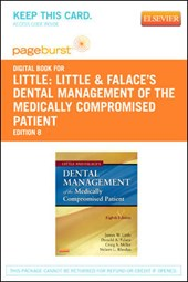 Little and Falace's Dental Management of the Medically Compromised Patient - Pageburst E-Book on Vitalsource (Retail Access Card) | James W. Little |
