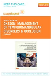 Management of Temporomandibular Disorders and Occlusion - Pageburst E-Book on Vitalsource (Retail Access Card)
