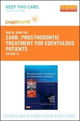 Prosthodontic Treatment for Edentulous Patients - Pageburst E-Book on Vitalsource (Retail Access Card) | George A. Zarb |