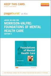 Foundations of Mental Health Care - Pageburst E-Book on Kno (Retail Access Card)