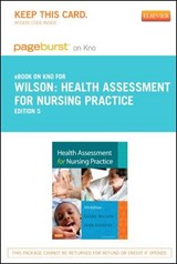 Health Assessment for Nursing Practice - Pageburst E-Book on Kno (Retail Access Card) | Susan F. Wilson |