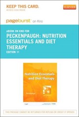 Nutrition Essentials and Diet Therapy - Pageburst E-Book on Kno (Retail Access Card) | Nancy J. Peckenpaugh |