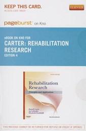Rehabilitation Research - Pageburst E-Book on Kno (Retail Access Card)