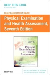 Physical Examination and Health Assessment Access Code | Carolyn Jarvis |