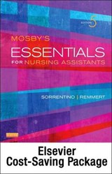 Mosby's Essentials for Nursing Assistants + Workbook + Mosby's Nursing Assistant Video Skills, Student Online Version 4.0 User Guide + Access Card | Sorrentino, Sheila A. ; Remmert, Leighann |