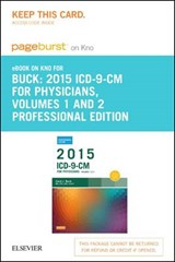 ICD-9-CM 2015 for Physicians Volumes 1 & 2 Professional Edition Pageburst on KNO Access Code | Carol J. Buck |